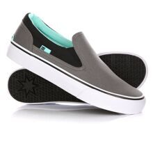 СЛИПОНЫ ЖЕНСКИЕ DC TRASE SLIP-ON TX GREY/BLACK  ADJS300105-GYB