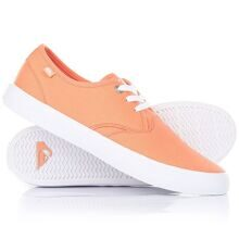 КЕДЫ НИЗКИЕ QUIKSILVER SHOREBREAK ORANGE/BLACK AQYS300027-XNNK