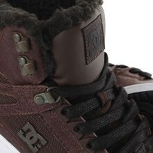 КЕДЫ ЗИМНИЕ ЖЕНСКИЕ DC REBOUND HI WNT BROWN/CHOCOLATE ADJS100054-BCT