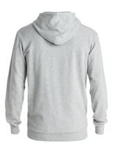 ТОЛСТОВКА КЕНГУРУ QUIKSILVER BEATEN LIGHT GREY HEATHER