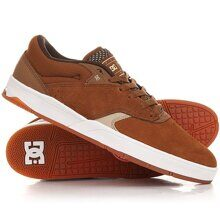 КЕДЫ НИЗКИЕ DC TIAGO BROWN/TAN ADYS100386-BTN