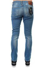 ДЖИНСЫ УЗКИЕ DC WASHED SLIM JN MEDIUM INDIGO BLEACH EDYDP03283-BJDW