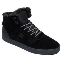КЕДЫ DC SHOES CRISIS HIGH WNT BLACK/GREY  ADYS100116-BGY