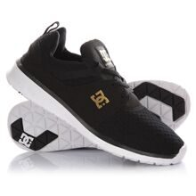 КРОССОВКИ DC SHOES HEATHROW SE BLACK/GOLD ADJS700022-BG3