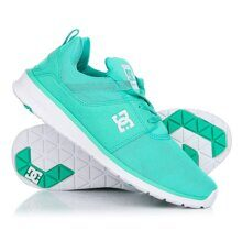 КРОССОВКИ DC SHOES HEATHROW TURQUOISE/WHITE ADJS700021-TQW