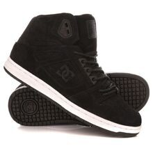 КЕДЫ ВЫСОКИЕ ЖЕНСКИЕ DC REBOUND HIGH XE BLACK SMOOTH ADJS100062-BSM