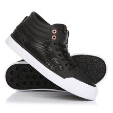 КЕДЫ DC SHOES EVAN HI SE BLACK/BLACK ADJS300182-BB2