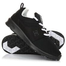 КРОССОВКИ DC SHOES HEATHROW BLACK/WHITE ADJS700021-BWB