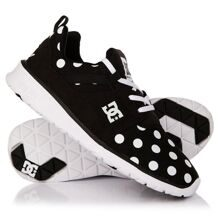 КРОССОВКИ DC SHOES HEATHROW SE BLACK/WHITE PRINT ADJS700022-BWP