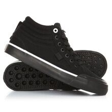 КЕДЫ DC SHOES EVAN HI TX BLACK/BLACK/WHITE  ADJS300178-BLW