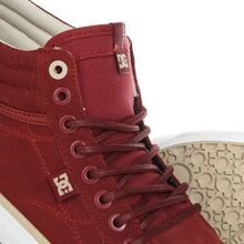 КЕДЫ DC SHOES EVAN HI SE BURGUNDY ADJS300182-BUR